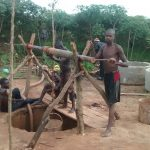 The Water Project: Hamis Water Source Pakanyi Community -  Construction Crew Digging Well