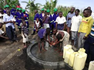 The Water Project:  Children At The New Well