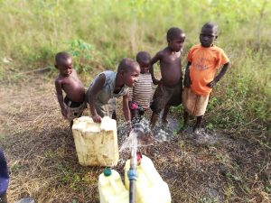 The Water Project:  Children Collect Water
