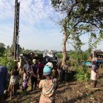 The Water Project: Alimugonza Community A -  Community Members Greert The Drill Rig