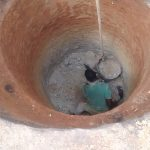 The Water Project: Alimugonza Community A -  Down The Well