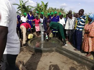 The Water Project:  Fetching Water From The Well