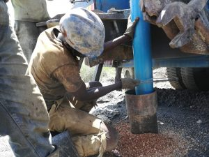 The Water Project:  Preparing To Drill