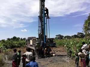 The Water Project:  The Drill Rig