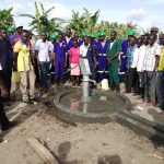 The Water Project: Alimugonza Community A -  Well Dedication