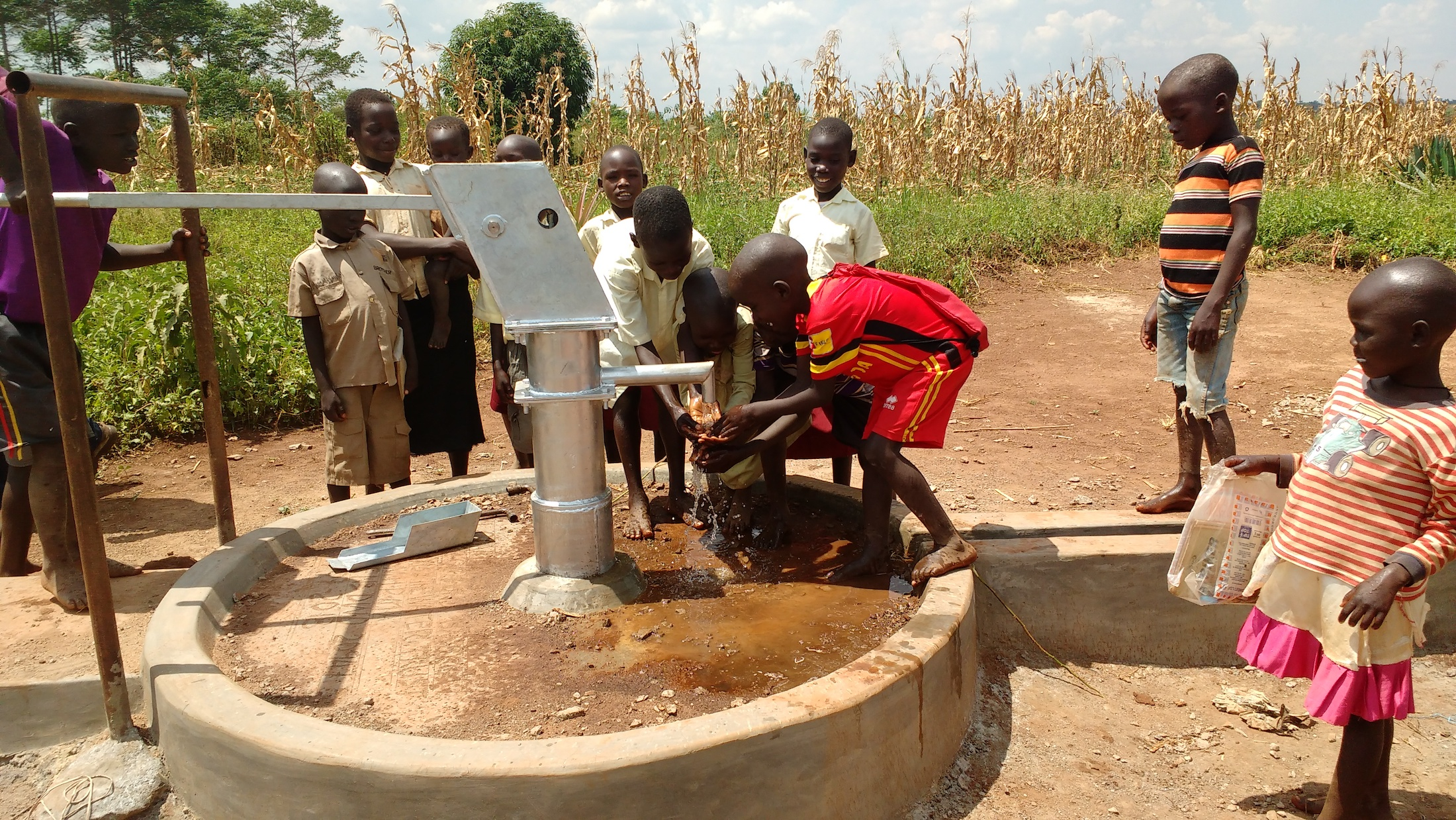 The Water Project : uganda18296-reliable-water