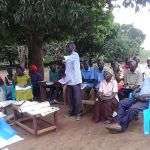 The Water Project: Kyamudikya Community A -  Community Participation During The Training