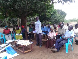 The Water Project:  Community Participation During The Training