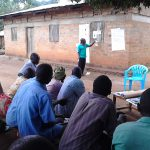 The Water Project: Kyamudikya Community A -  Facilitator Leads Community Training