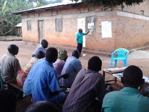 The Water Project:  Facilitator Leads Community Training