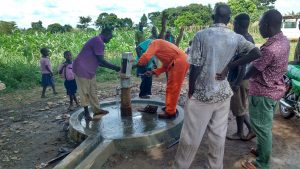 The Water Project:  Well Rehab Nearly Done