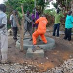 The Water Project: Kyamudikya Community A -  Well Rehab Underway