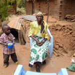 The Water Project: Maluvyu Community E -  Felisters Mbaika