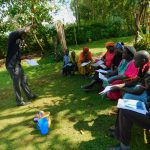 The Water Project: Koitabut Community, Henry Kichwen Spring -  Training