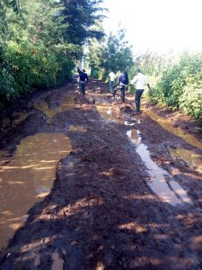 The Water Project:  Poor Roads Leading To School