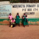 The Water Project: Mukhweya Primary School -  School Gate