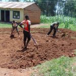 The Water Project: Lugango Primary School -  Tank Foundation