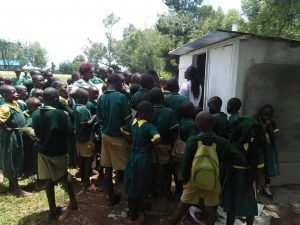 The Water Project:  Latrine Care Training