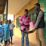 The Water Project: Shivanga Primary School -  Handwashing Training