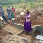 The Water Project: Shirugu Community, Mashela Spring -  Spring Care Training