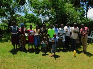 The Water Project:  Training Group Picture
