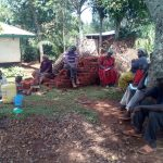 The Water Project: Asimuli Community, John Omusembi Spring -  Leaky Tin Training