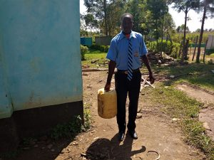 The Water Project:  Carrying Water To School Kitchen