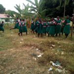 The Water Project: Mukhweya Primary School -  Litter Blown Around The Latrines