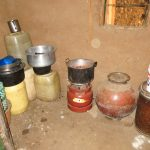 The Water Project: Mutao Community, Kenya Spring -  Water Storage