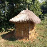 The Water Project: Sichinji Community, Kubai Spring -  Mud Latrine