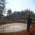 The Water Project: Isulu Primary School -  Tank Construction