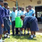 The Water Project: Gidagadi Secondary School -  Handwashing Practice