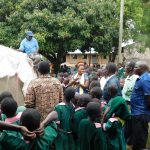 The Water Project: Mavusi Primary School -  Tank Care Training