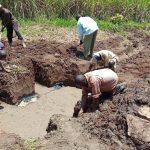 The Water Project: Shirugu Community, Mashela Spring -  Spring Excavation
