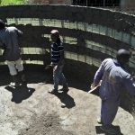 The Water Project: Lwanda Secondary School -  Tank Construction