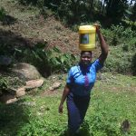 The Water Project: Musasa Secondary School -  Carrying Water