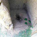 The Water Project: Ataku Community, Ngache Spring -  Dangerous Latrine Floor