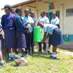 The Water Project: Gidagadi Secondary School -  Handwashing Practice