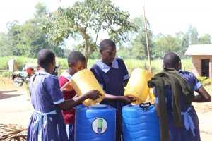 The Water Project:  Filling The New Handwashing Stations
