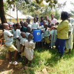 The Water Project: Eshisenye Primary School -  Handwashing Training