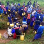 The Water Project: Essongolo Primary School -  Fetching Water