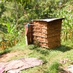 The Water Project: Shisere Community, Francis Atema Spring -  A Latrine In The Community