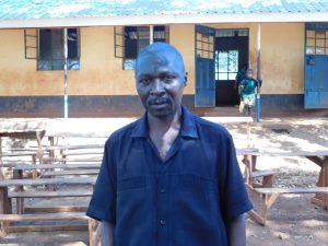 The Water Project:  Headteacher Matete