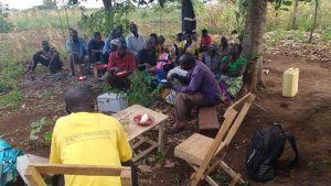 The Water Project:  Sharing A Meal During Training