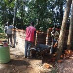 The Water Project: Isulu Primary School -  Latrine Construction