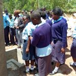 The Water Project: Gidagadi Secondary School -  Tank Care Training