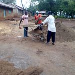 The Water Project: Imbale Primary School -  Sifting Sand