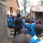 The Water Project: Shivanga Primary School -  Tank Care Training