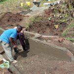The Water Project: Shirugu Community, Mashela Spring -  Spring Construction