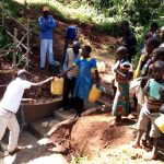 The Water Project: Chepnonochi Community, Chepnonochi Spring -  Spring Care Training